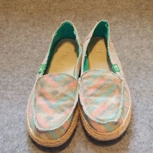 Sanuk Slippers - Size 7